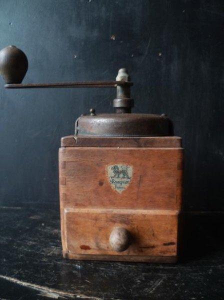 画像1: フランス古物雑貨&古道具グランジュ プジョーコーヒーミルEX (1)