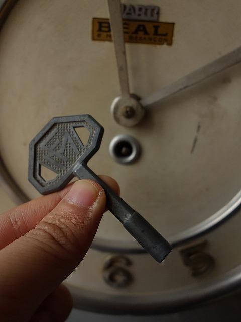 フランスヴィンテージフランス製ブリキの壁掛け時計