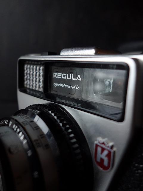 REGULA西ドイツ製35mmフィルムヴィンテージカメラ