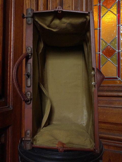 フランスアンティーク20世紀初頭のドクターバッグ