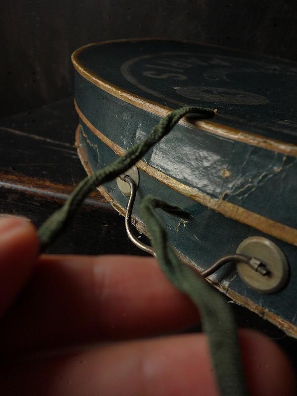 フランスヴィンテージ折りたたみ式シルクハット